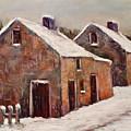 Snow Fall In Ireland by Joyce A Guariglia