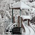Snow Slide by Al Powell Photography USA