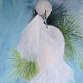 Snowy Egret by Maris Sherwood