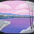 Snowy Lake by Dixie Lee Hedrington