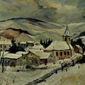 Snowy Landscape 780121 by Pol Ledent