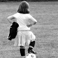 Soccer Fashionista by Keith Campagna
