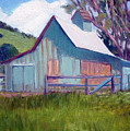 Solvang Barn by Marie-Therese  Brown