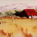 Sonoma Wheatfield by Patricia Halstead