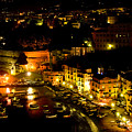 Sorrento Harbor At Night by Xavier Cardell