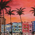 South Beach by Dyanne Parker
