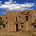 South Pueblo Taos by Kurt Van Wagner
