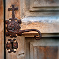 Spanish Mission Door Handle by Jill Battaglia