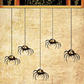 Spiders For Halloween by Arline Wagner