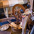 Spinning And Weaving by Douglas Barnett