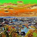Spokane Washington Earth by Ben Upham III