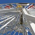 Spokes Of A Ferris Wheel by Kathi Tesone