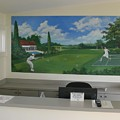 sports images mural-Mountain Lake -Florida by Scott K Wimer
