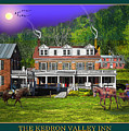 Spring At The Kedron Valley Inn by Nancy Griswold