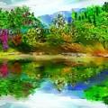 Spring Lake by David Lane