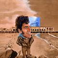 Springsteen On The Beach by Ken Meyer jr