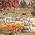 Springtime Horses by Robert Tutsky
