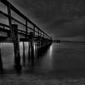 Square Pier by E R Smith