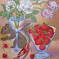 Squirrel Cherry .2006 by Natalia Piacheva