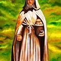 St Jeanne Jugan Of France by Xafira Mendonsa