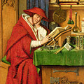 St. Jerome In His Study  by Jan van Eyck