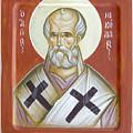 St Nicholas Of Myra by Julia Bridget Hayes