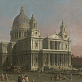 St. Paul's Cathedral by Giovanni Antonio Canaletto