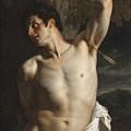 St. Sebastian by Hippolyte Paul Delaroche