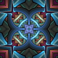Stacked Kaleidoscope by Amanda Moore