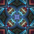 Stacked Kaleidoscope by Amanda Moore