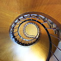 Staircase At Azay Le Rideau by Christine Jepsen
