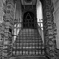 Stairs Beyond B-w by Christopher Holmes