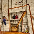 Stairs by Karen  Peterson