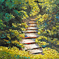 Stairway To Heaven by Cathy Fuchs-Holman