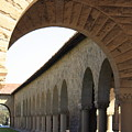 Stanford Memorial Court Arches I by Linda Dunn