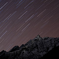 Star Trails Above Himal Chuli Created by Alex Treadway
