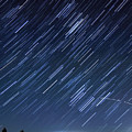 Star Trails Long Exposure At Night by Evan Sharboneau