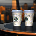 Starbucks At The Top by David Lee Thompson