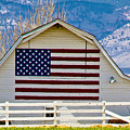 Stars Stripes And Barns by Marilyn Hunt