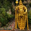 Statue Of Murugan by Adrian Evans