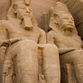 Statues At Abu Simbel by Darcy Michaelchuk