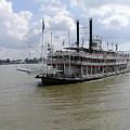 Steamboat Natchez 2 by Jack Herrington