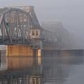 Steel Bridge In Fog by Tim Nyberg