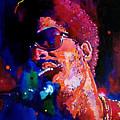 Stevie Wonder by David Lloyd Glover