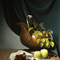Still Life Painting Zanndam Evening by Eric Bossik