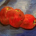 Still Life With Apples by Caroline Lifshey