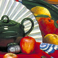 Still Life With Citrus Still Life by Nancy  Ethiel