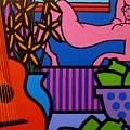Still Life With Matisse  II by John  Nolan