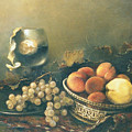 Still-life With Peaches by Tigran Ghulyan