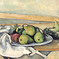 Still Life With Pears by Paul Cezanne